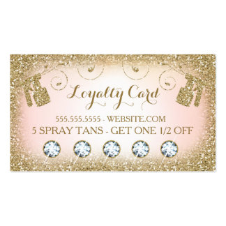 311 Spray Tan Loyalty Card Pack Of Standard Business Cards