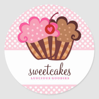 311 Sweet Cakes Cupcake Sticker