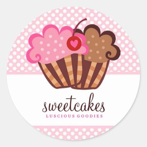 311 Sweet Cakes Cupcake Sticker