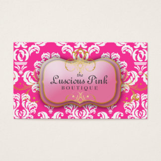 311-The Luscious Pink Plate | Hott Pink Business Card