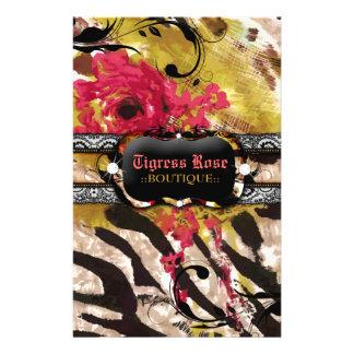 311 Tigress Zebra Rose Flyer