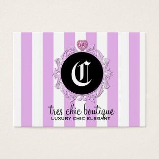 311 Tres Chic Lavender Stripes