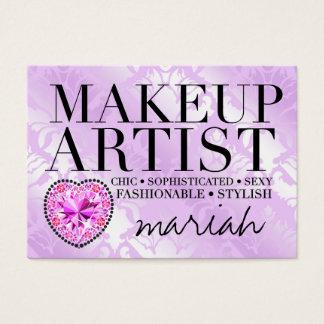 311 Tres Chic Makeup Artist Damask Diamond Heart