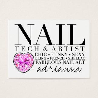 311 Tres Chic Nail Tech Diamond Heart