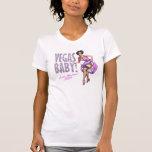 311 Vegas Baby Pinup Girl Sparkle Girls Weekend T Shirt