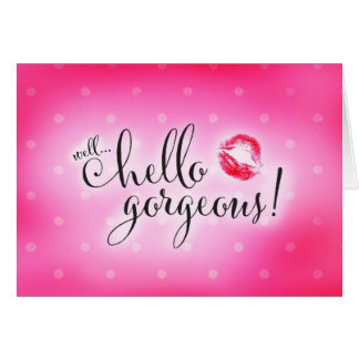 311 Well Hello Gorgeous Will You Be Bridesmaid Card
