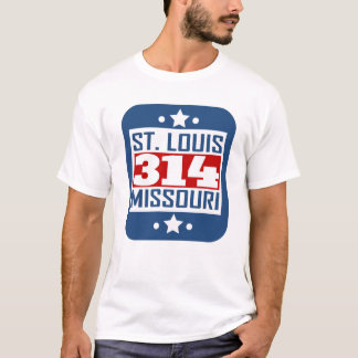 314 St Louis MO Area Code T-Shirt