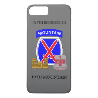 317TH ENGINEER BN 10TH MOUNTAIN iPHONE CASE