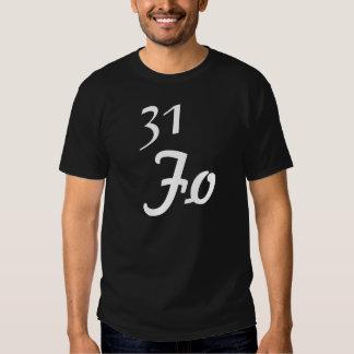 31 Fo Black shirt