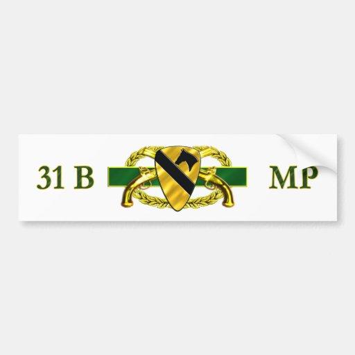 31B 1st Cavalry Division Bumper Stickers