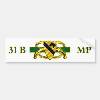 31B 1st Cavalry Division Car Bumper Sticker