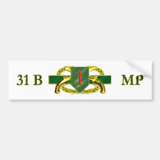 31B 1st Infantry Division Bumper Stickers