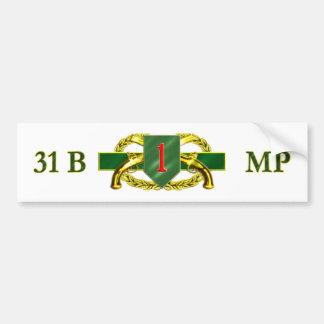 31B 1st Infantry Division Bumper Sticker