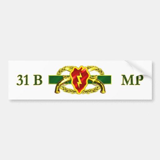 31B 25th Infantry Division Bumper Sticker