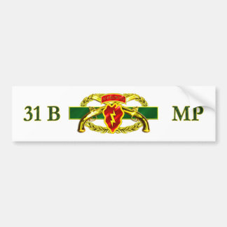 31B 25th Infantry Division Bumper Sticker