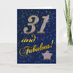 31st Birthday party Invitation