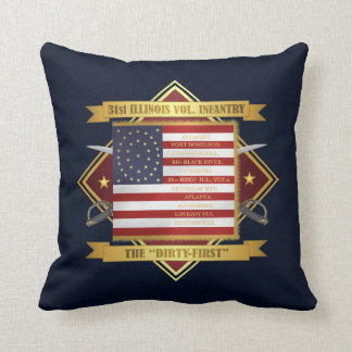 31st Illinois Volunteer Infantry Cushion