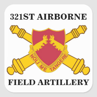 321ST AIRBORNE FIELD ARTILLERY STICKERS
