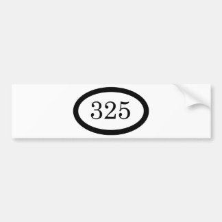 325 Parachute Infantry Bumper Sticker