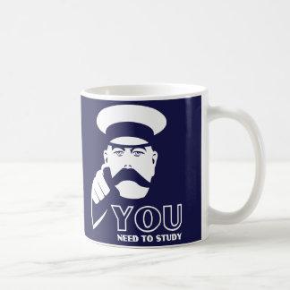 325ml Blue Edinburgh University student coffee mug