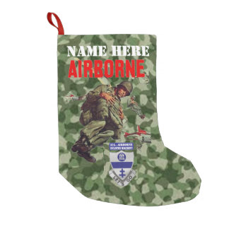 325th AIRBORNE INFANTRY REGIMENT Small Christmas Stocking