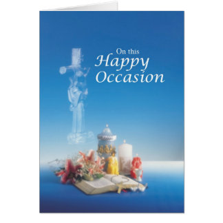 3260 Happy Occasion Blue Card
