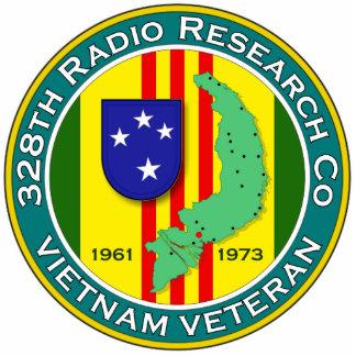 328th RRC - ASA Vietnam Standing Photo Sculpture