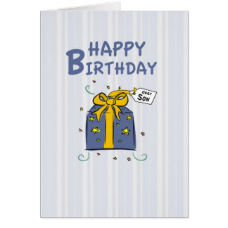 3296 Son Birthday Card
