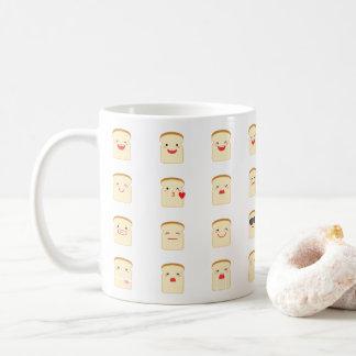 32 Pieces of Bread Emojis Mug