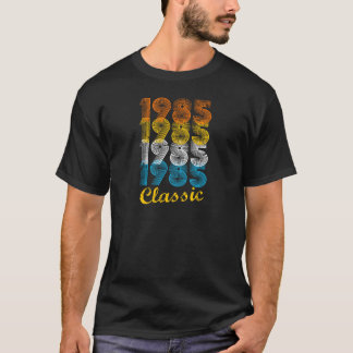32nd Birthday Gift Vintage 1985 T-Shirt for Men &