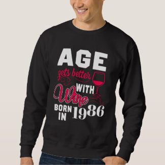 32nd Birthday T-Shirt For Wine Lover.