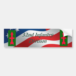 32nd Infantry Brigade Combat Team Bumper Sticker