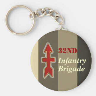 32nd Infantry Brigade Military Key Ring