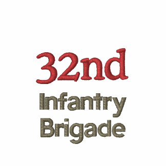 32nd Infantry Brigade Military Polo Shirt