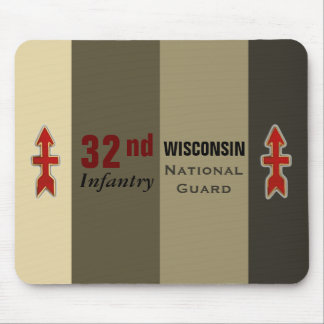 32nd Infantry Wisconsin National Guard Mouse Pad