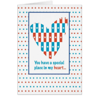3309 Place in Heart, Thanks, Patriotic Greeting Cards