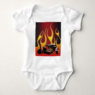 330 Hot Rod Color Variante 2 Baby Bodysuit
