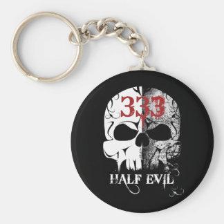 333 Half Evil Key Chains