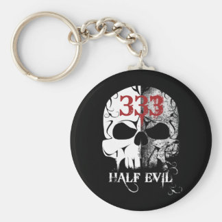 333 Half Evil Keychain