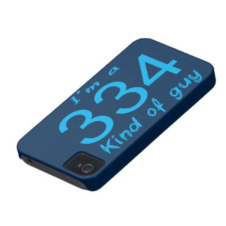 334 GUY iPhone 4 Case-Mate CASES
