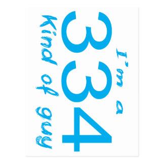 334 GUY POSTCARD