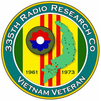 335th RRC - ASA Vietnam Standing Photo Sculpture