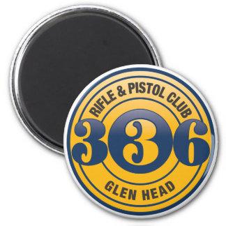 336 Color Logo Magnet