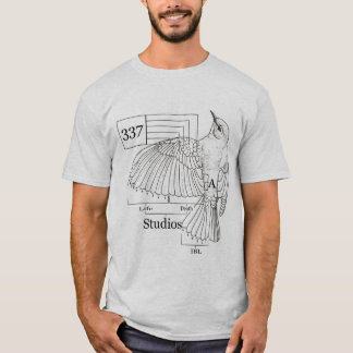 337 Bird Diagram T-Shirt
