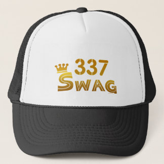 337 Louisiana Swag Trucker Hat