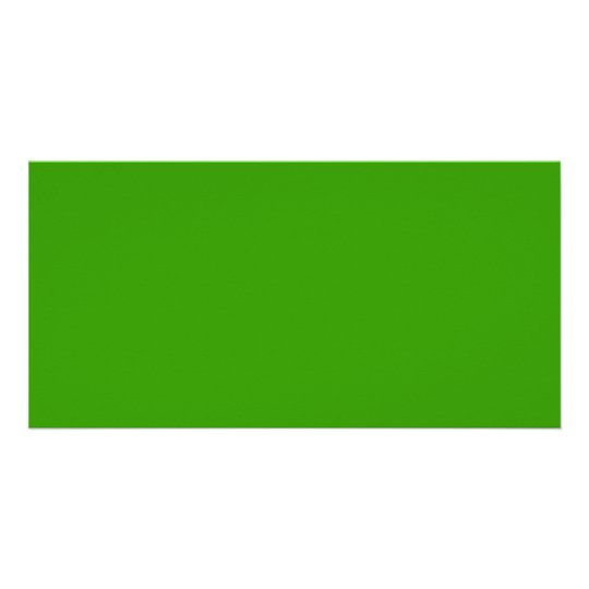 339900 Green Solid Colour Background Photo Card