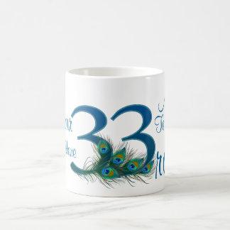 # 33- 33rd Wedding Anniversary or 33rd Birthday Coffee Mug
