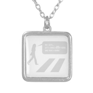 33/5000 A stroll through historic London Silver Plated Necklace