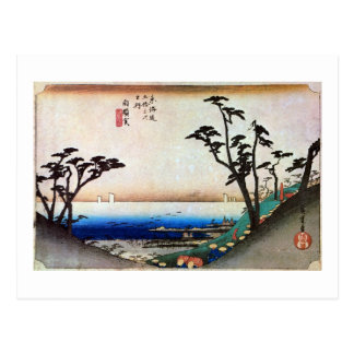 33. Sirasuka inn, Hiroshige Postcard