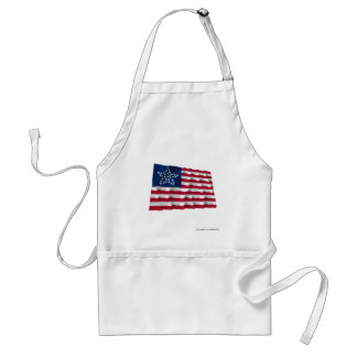 33-star flag, Great Star pattern Aprons